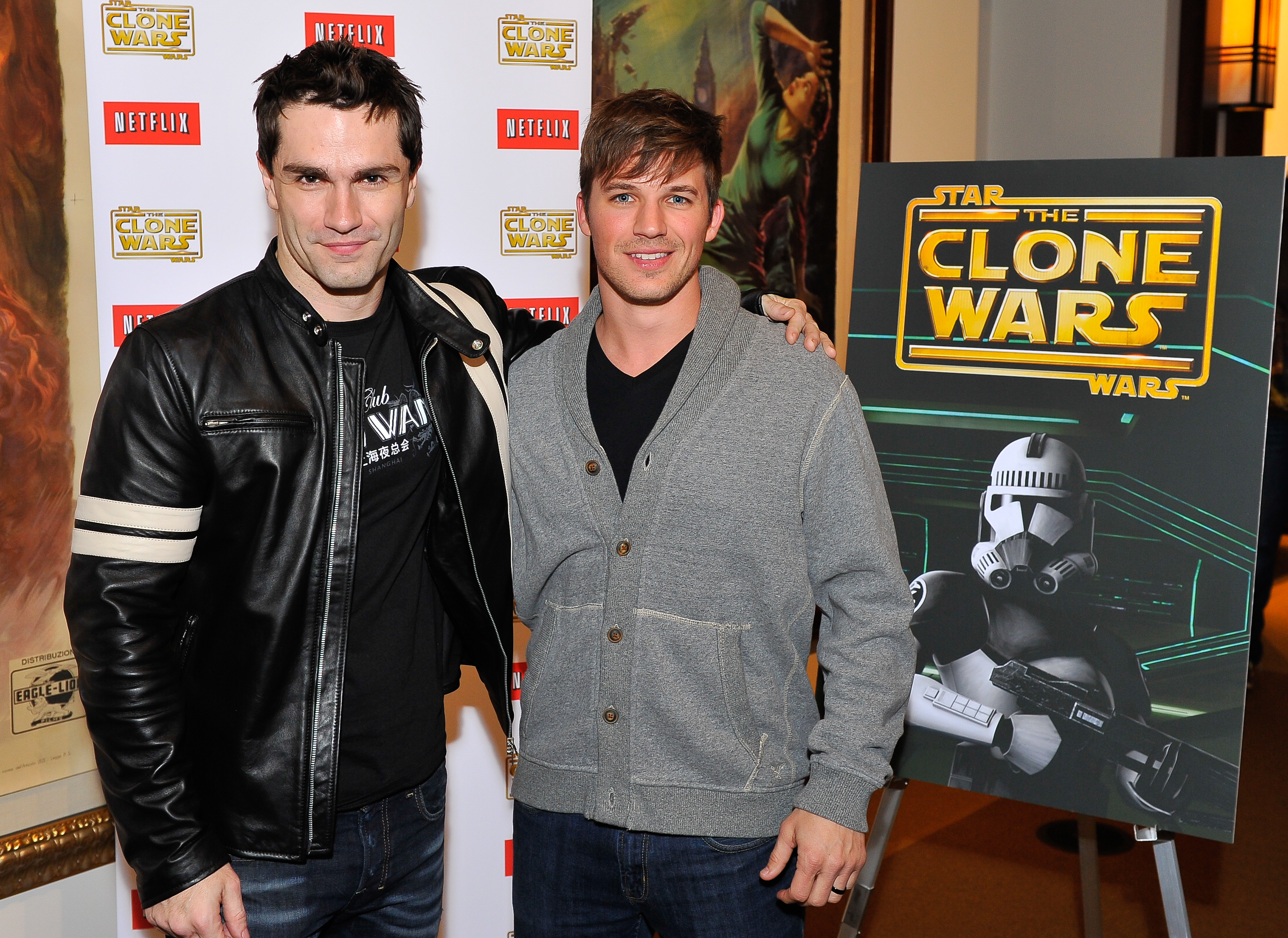 Sam Witwer & Matt Lanter
