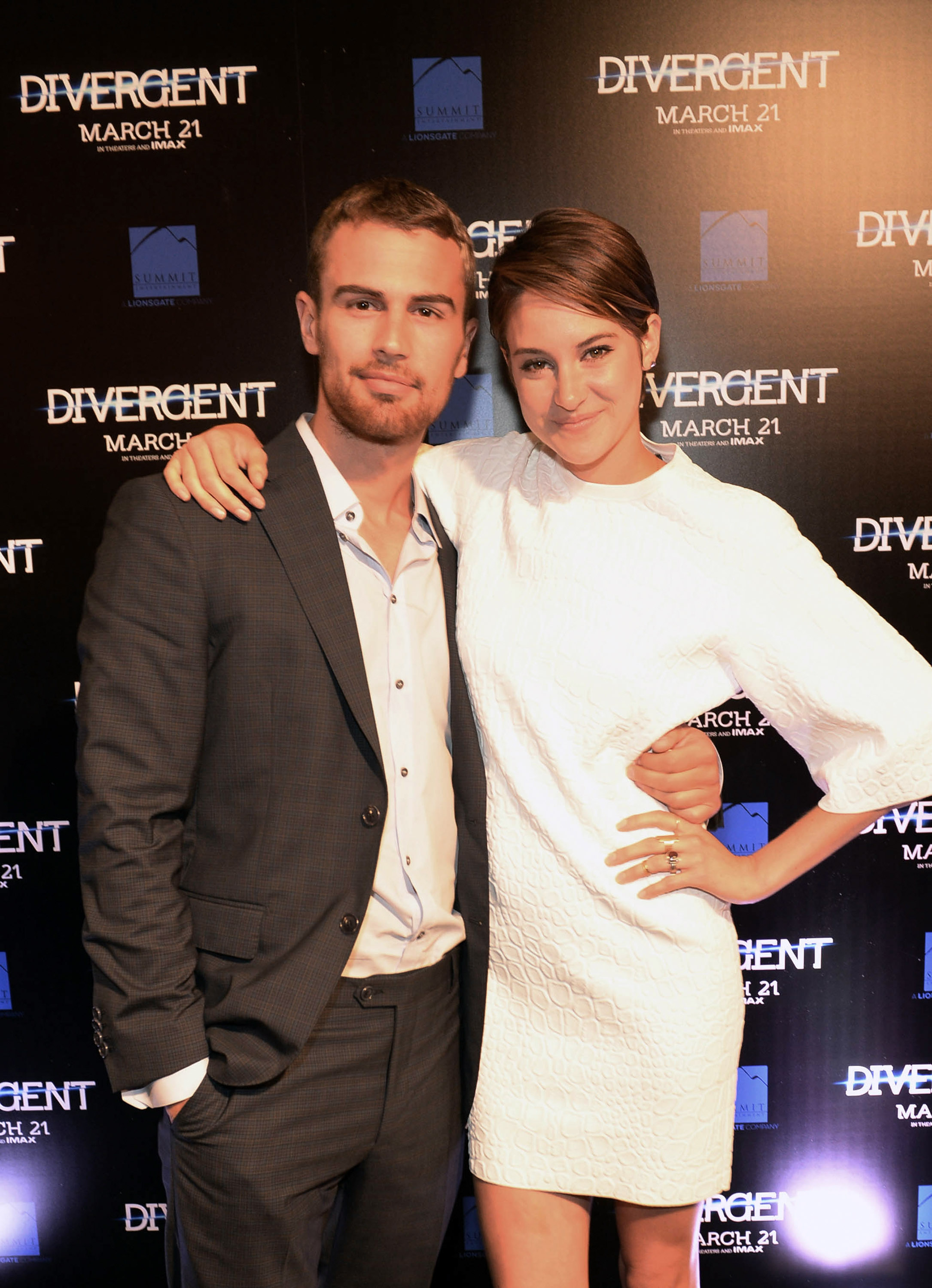 Theo James & Shailene Woodley