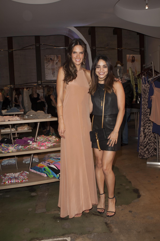 Alessandra Ambrosio & Vanessa Hudgens