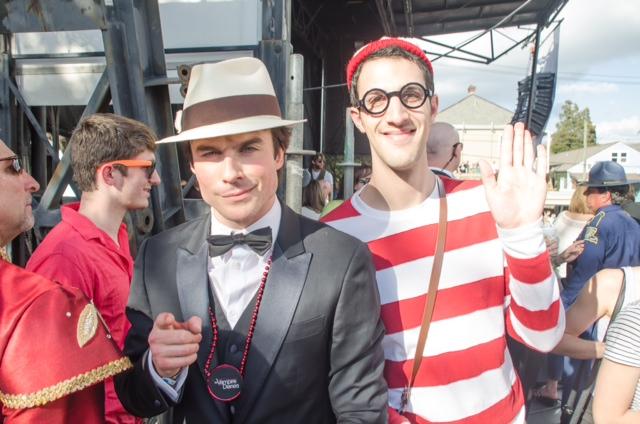 Ian Somerhalder & Waldo