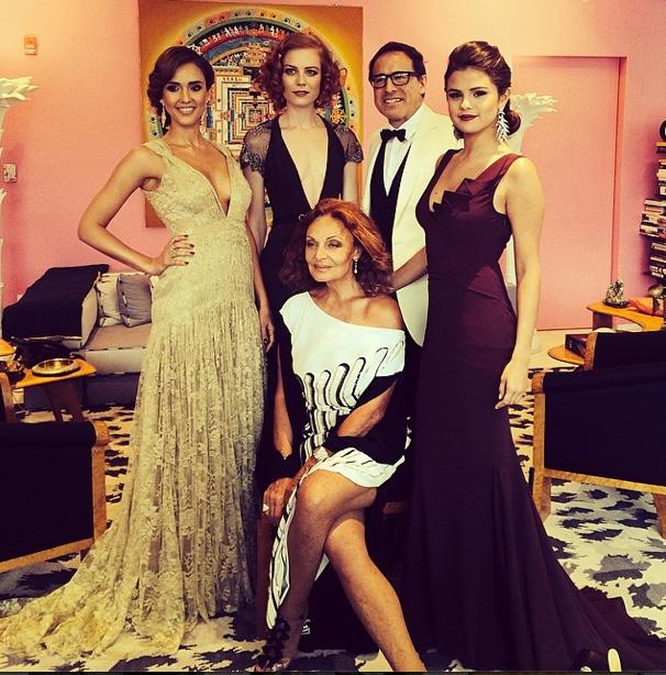 Jessica Alba, Jessica Joffe, David O. Russell, Selena Gomez & Diane Von Furstenberg