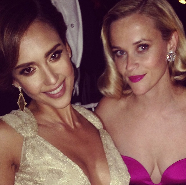 Jessica Alba & Reese Witherspoon