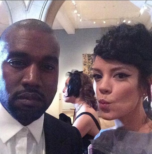 Kanye West & Lily Allen