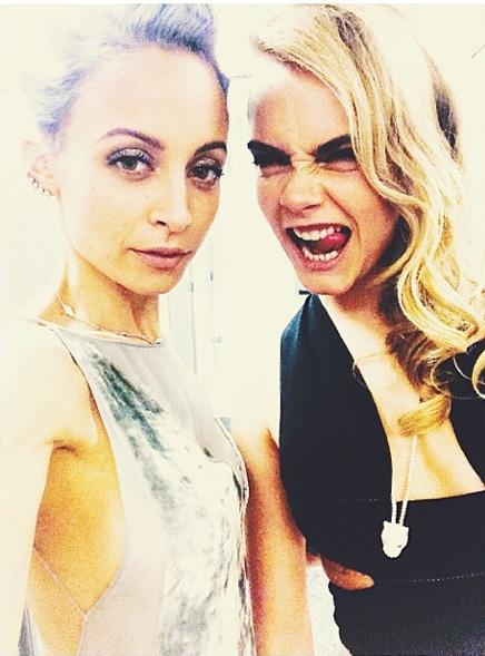 Nicole Richie & Cara Delevingne