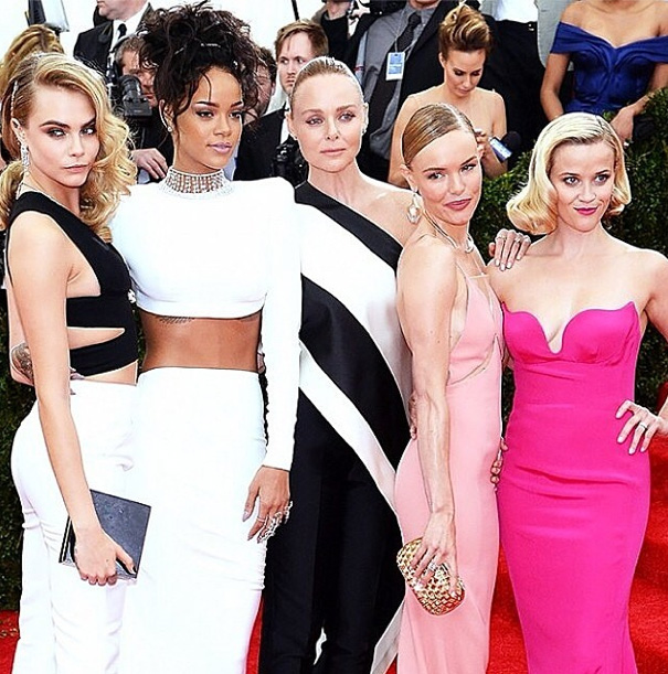 Cara Delevingne, Rihanna, Stella McCartney, Kate Bosworth & Reese Witherspoon