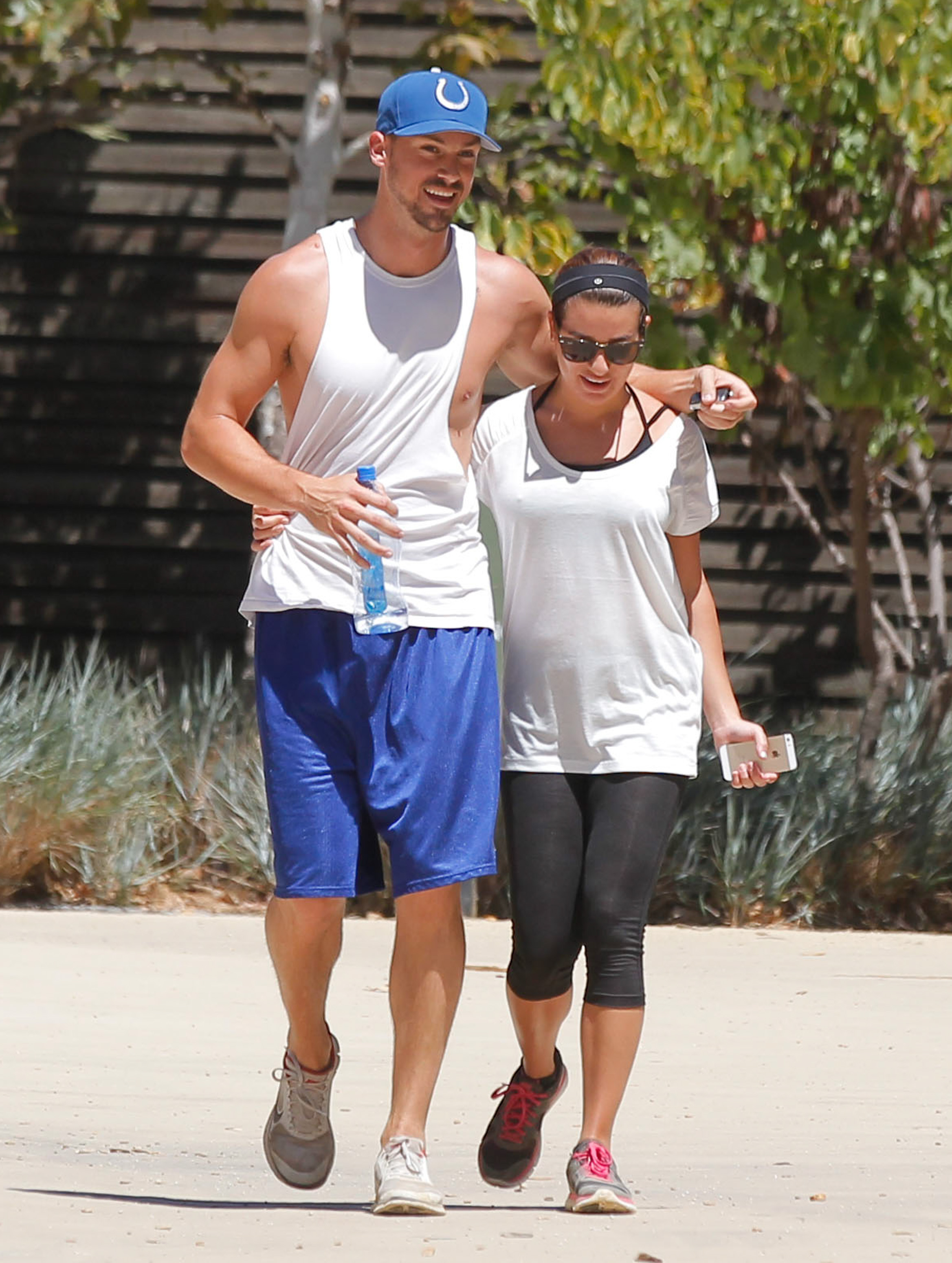 How Long Were Cory Monteith And Lea Michele Been Hookup