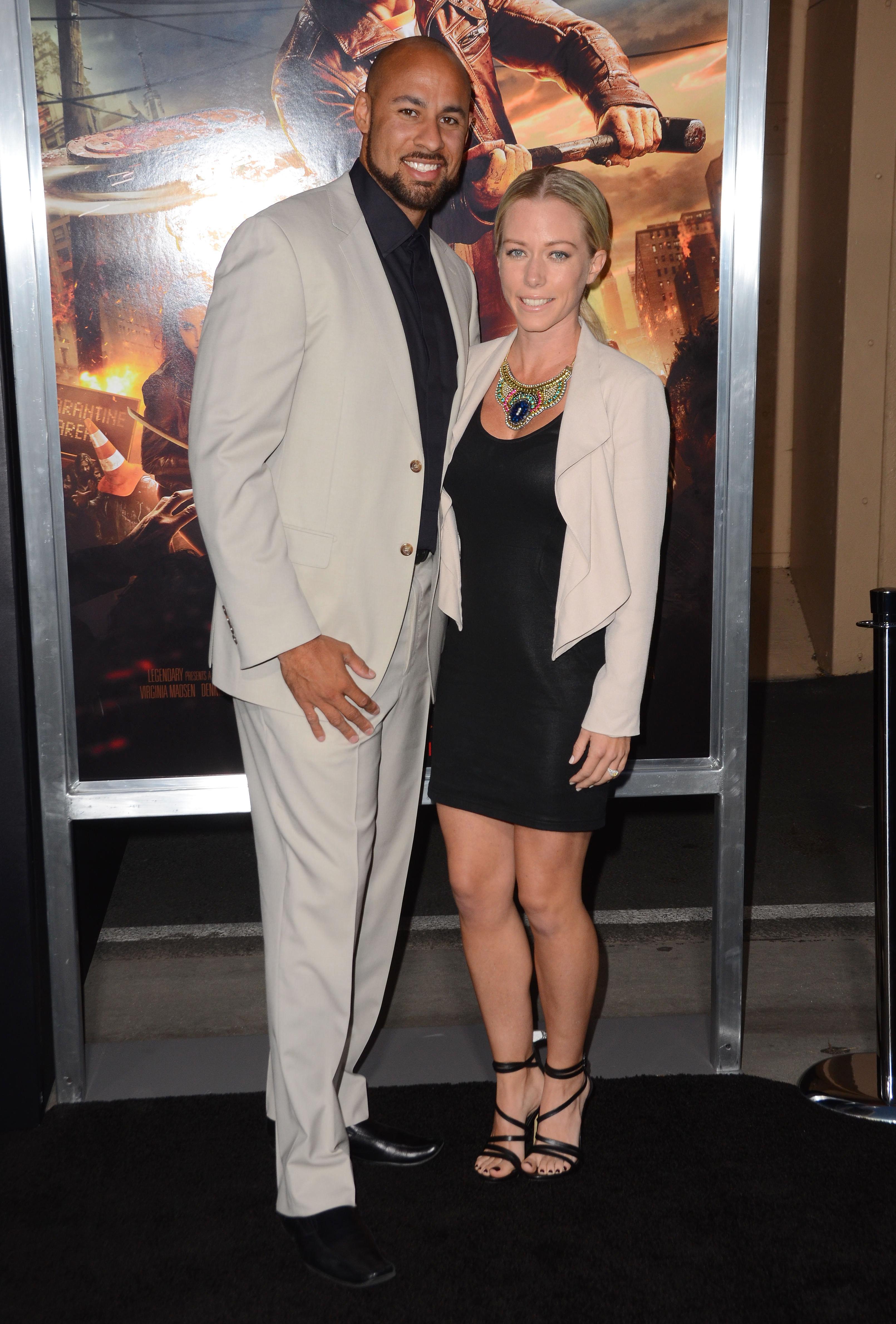 Kendra Wilkinson, Hank Baskett date night