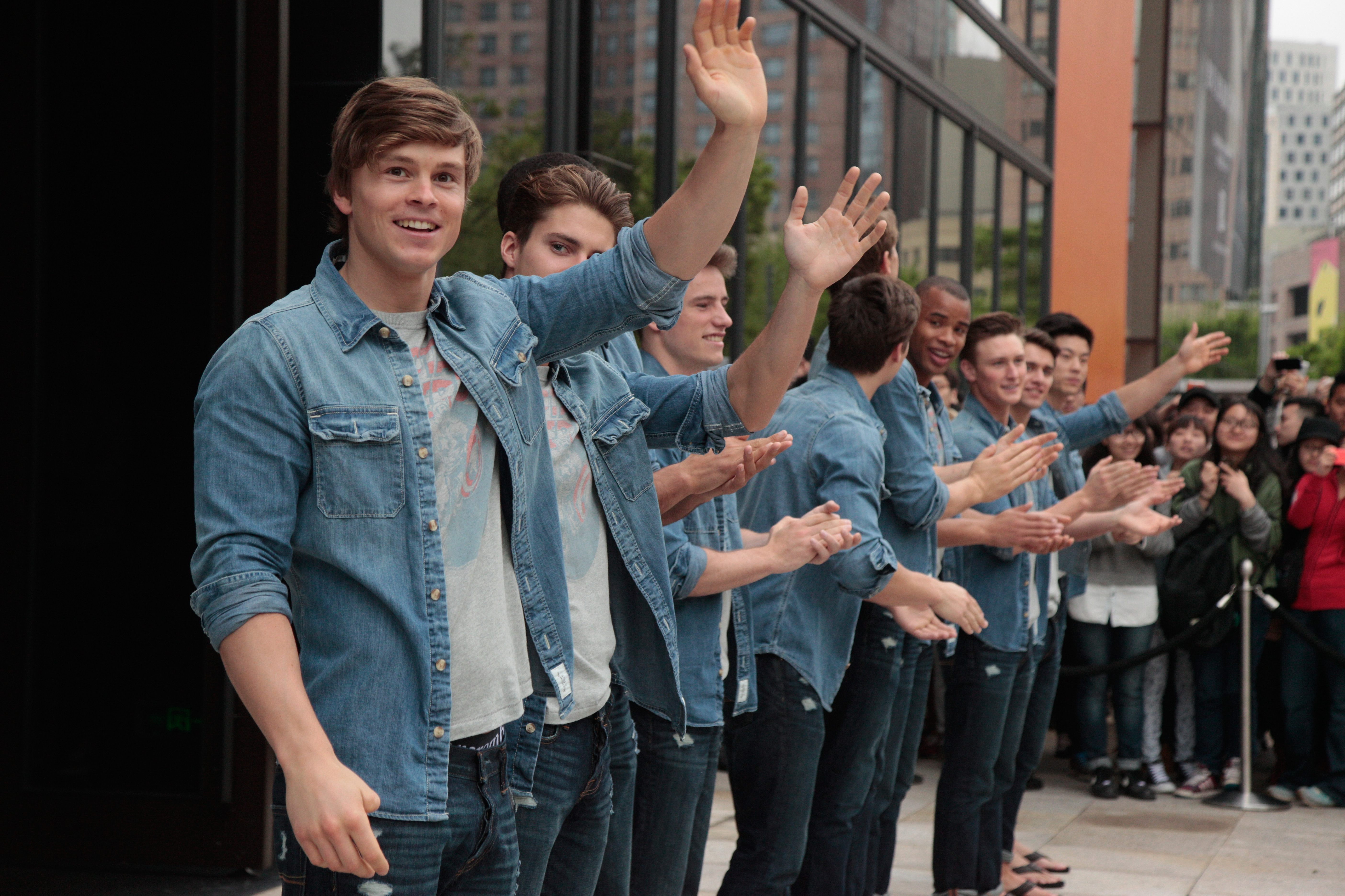 Abercrombie & Fitch Opens Shanghai Flagship Store