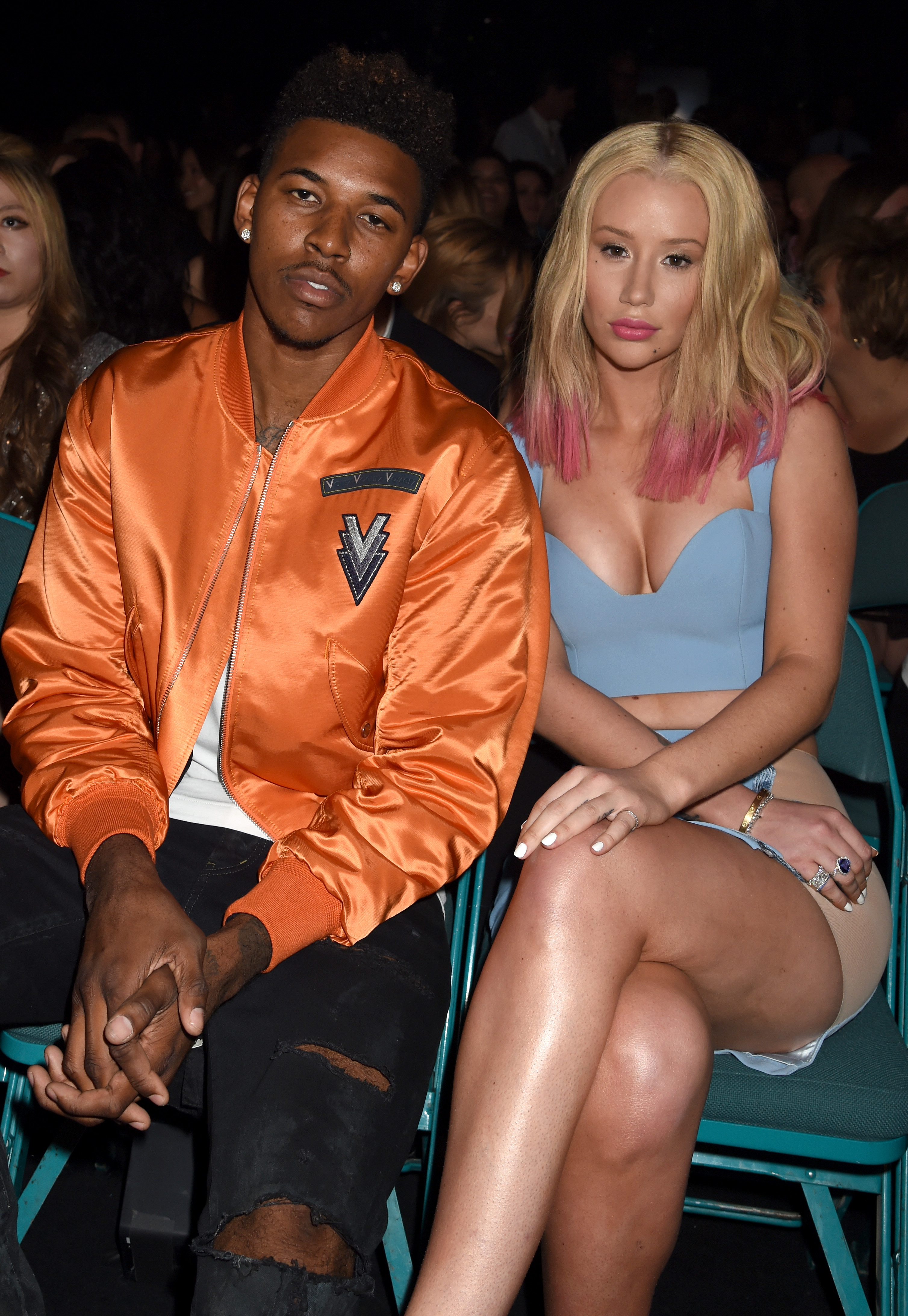 how did iggy and nick young meet old