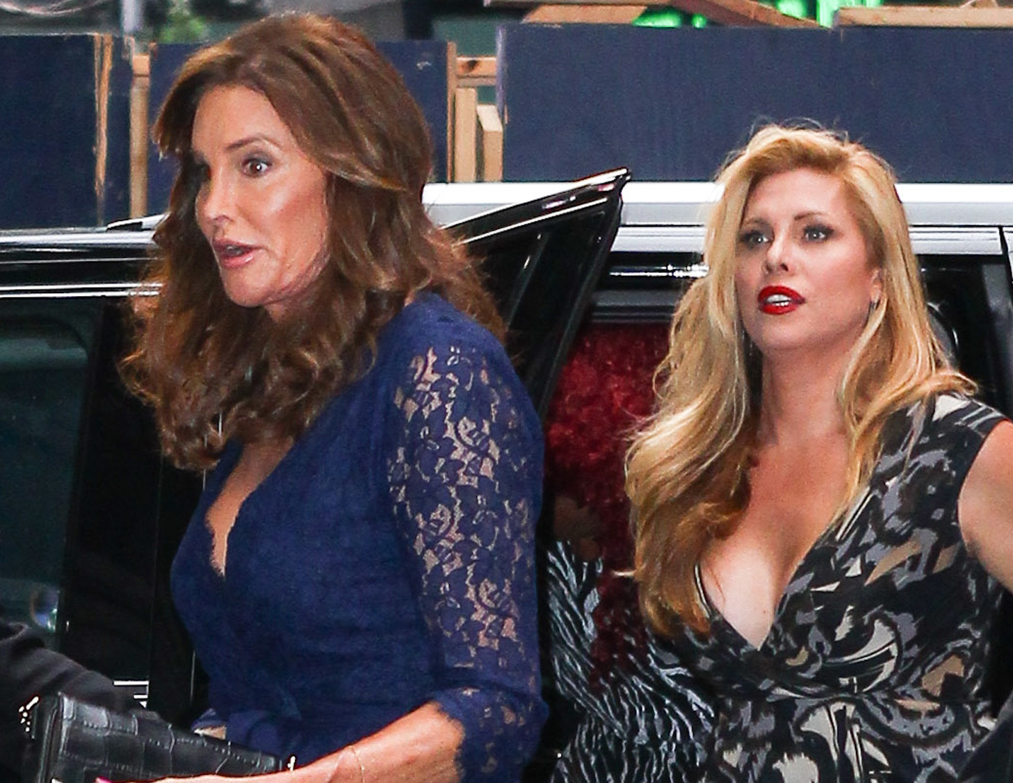 Caitlyn Jenner enjoys a night on Broadway with trans gal pal Candis Cayne