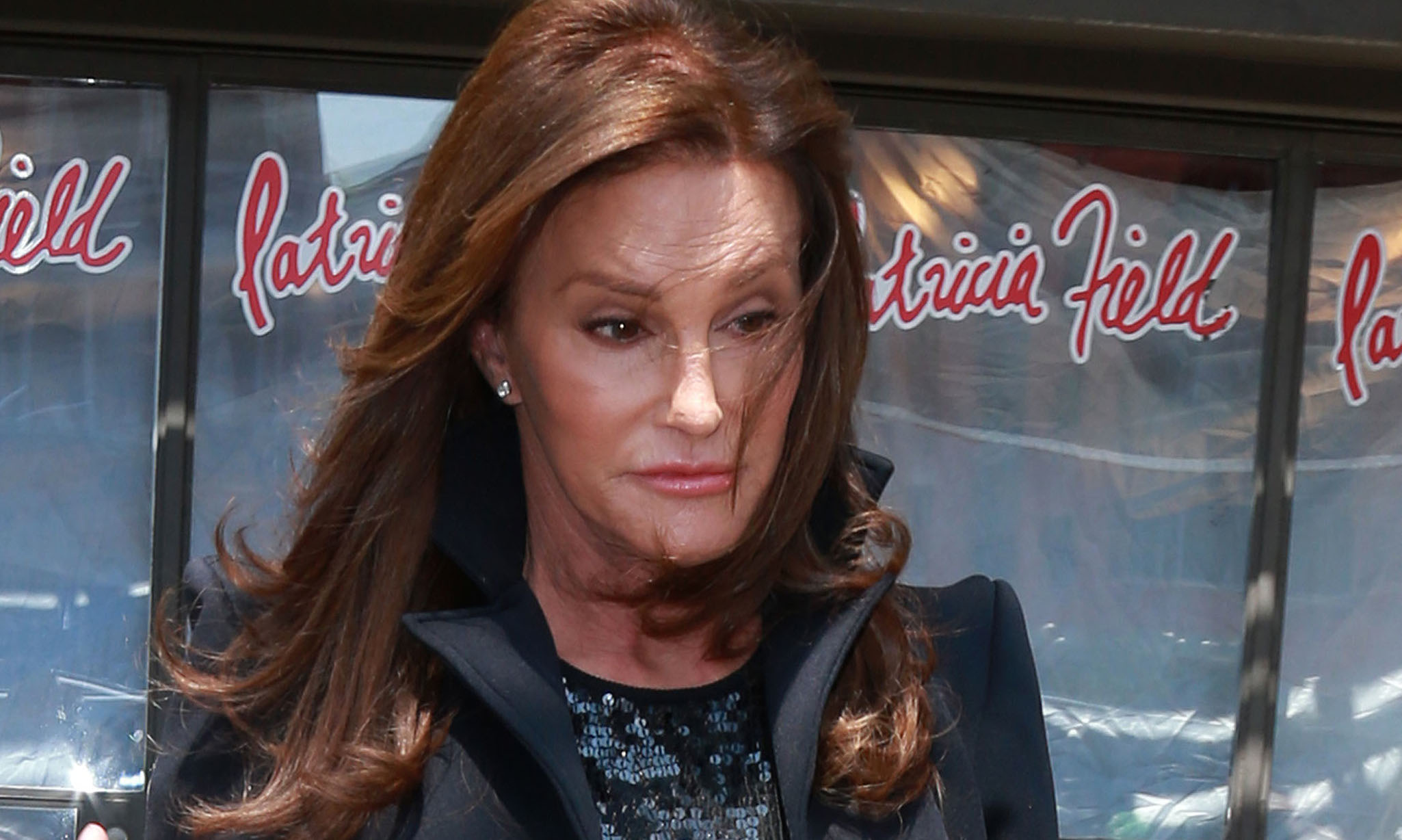 Caitlyn Jenner shows off her own unique style after visiting Patricia Field's boutique store in New York City ***NO DAILY MAIL SALES***