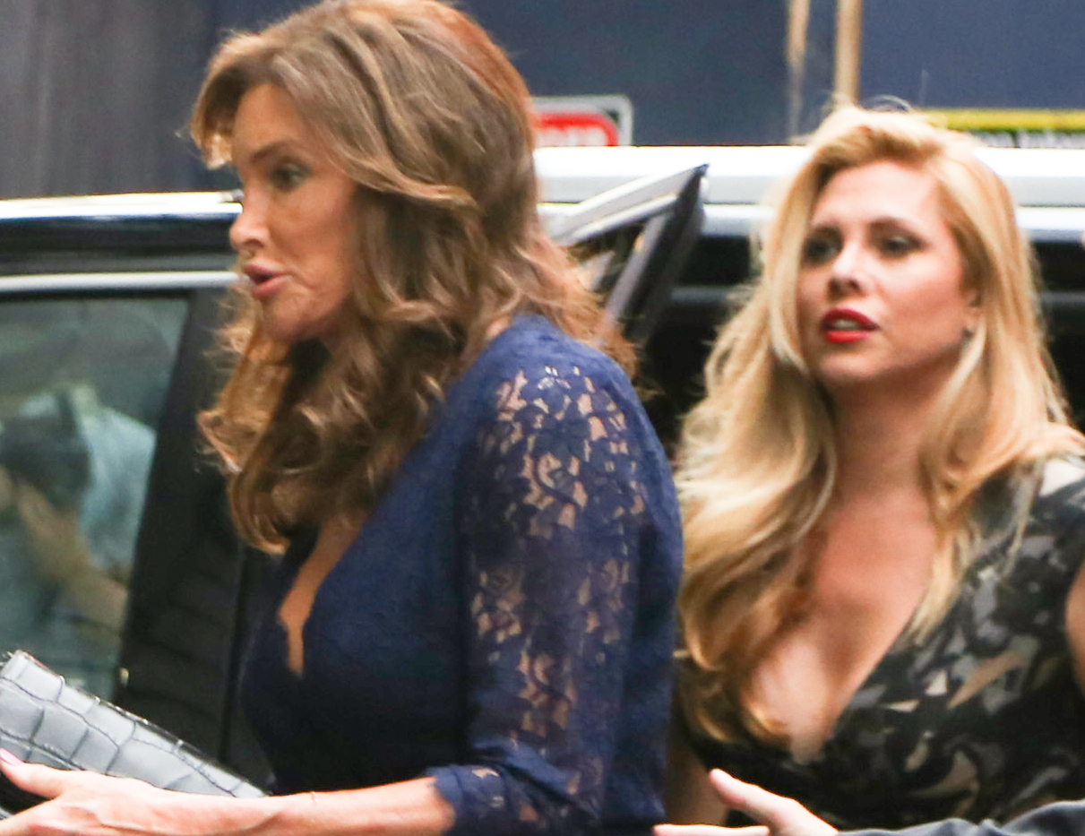 INF   Caitlyn Jenner Attends 'An American In Paris' On Broadway