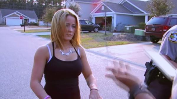 Jenelle evans arrested 2