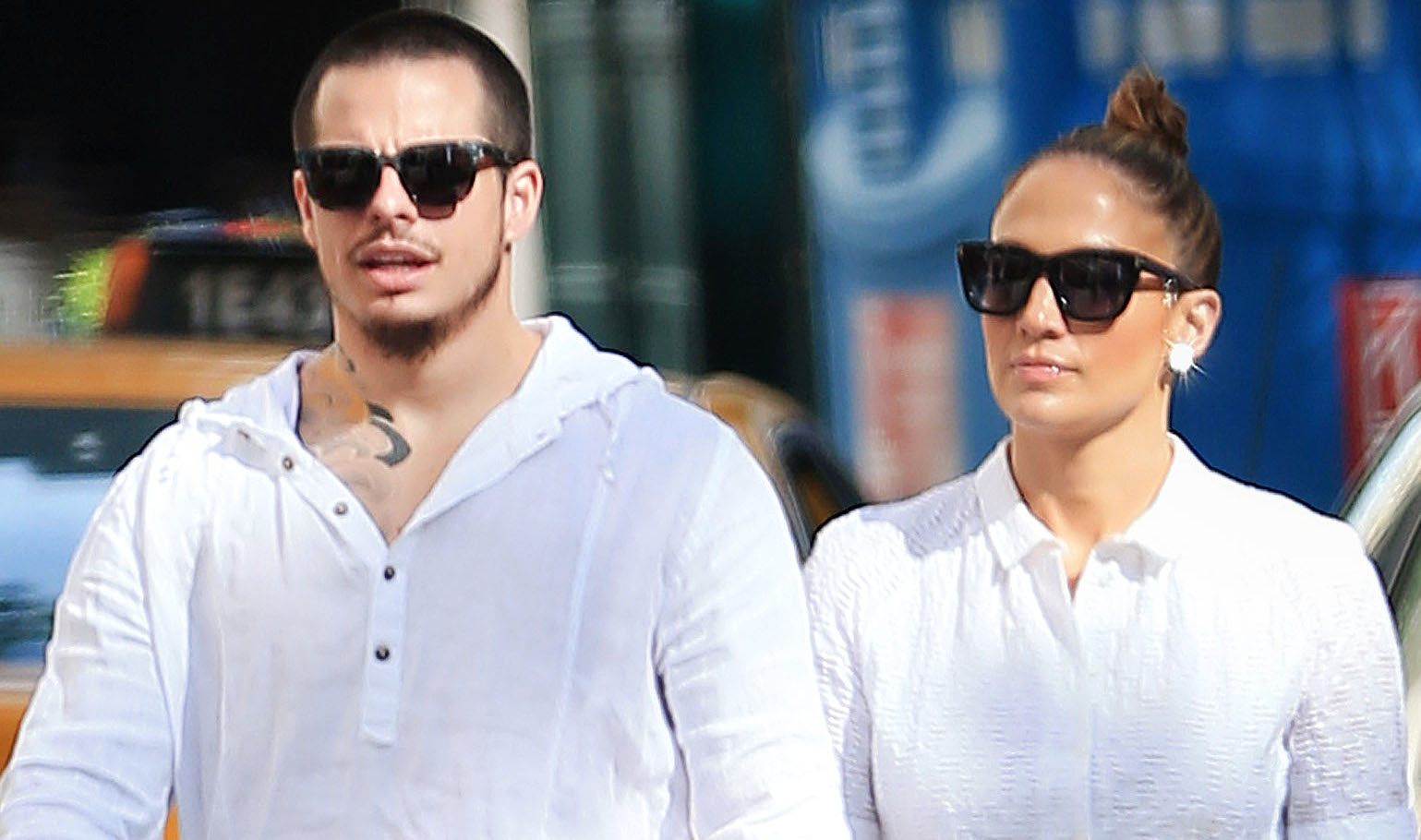 EXCLUSIVE: Jennifer Lopez and Casper Smart take a romantic walk in NYC