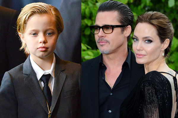 Brad pitt angelina jolie daughter shiloh boy transgender