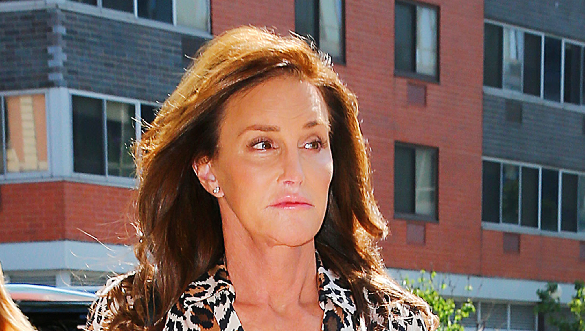 Caitlyn Jenner goes in New York City with a friend