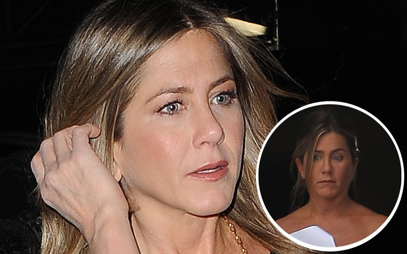 Jennifer aniston hairy meltdown