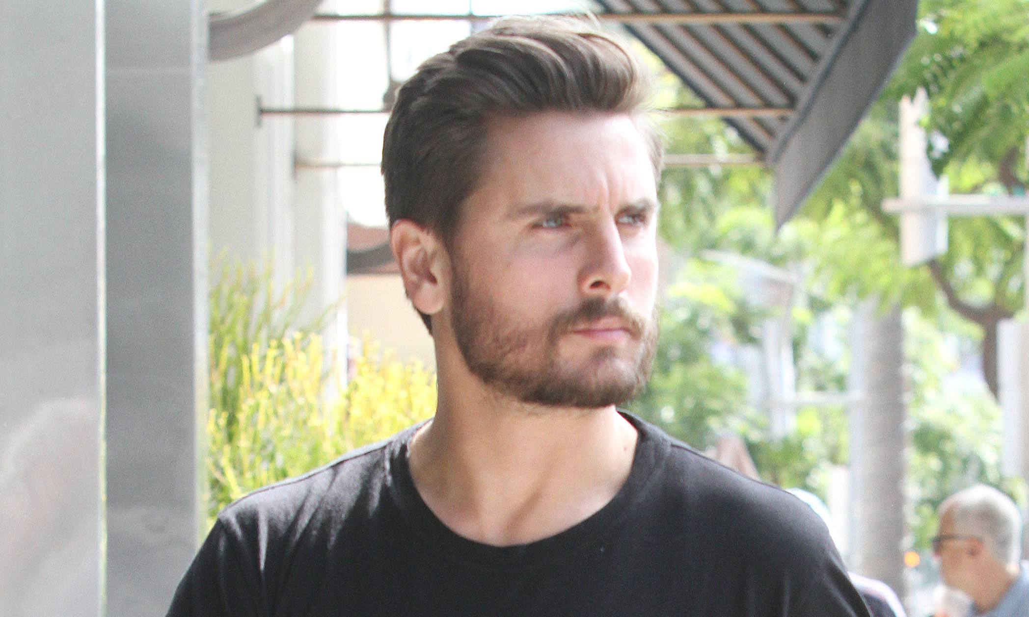 Kourtney Kardashian and Scott Disick take Penelope and Kendall Jenner for lunch in Beverly Hills, CA **NO DAILY MAIL SALES**