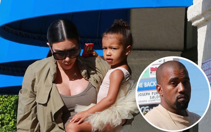 Kim kardashian north west ballet kanye west