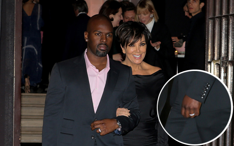 Kris jenner engaged corey gamble