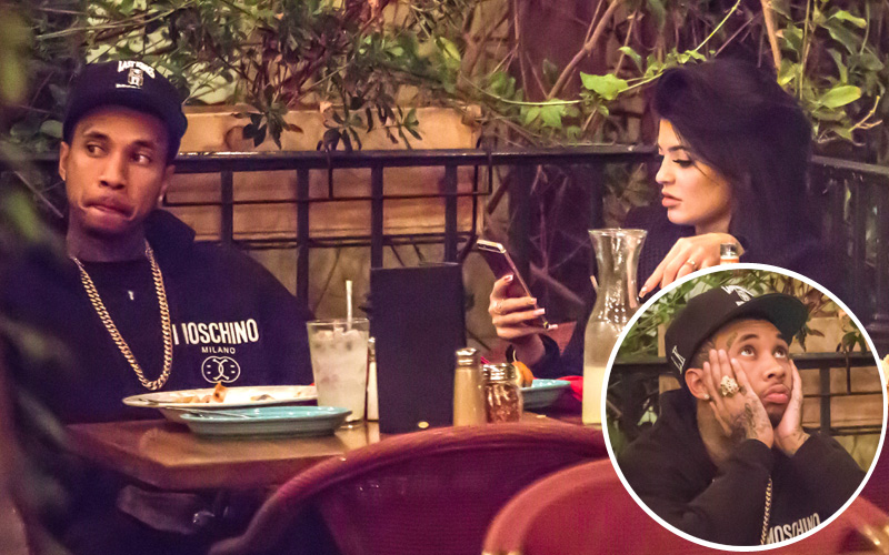 Tyga kylie jenner bored date night