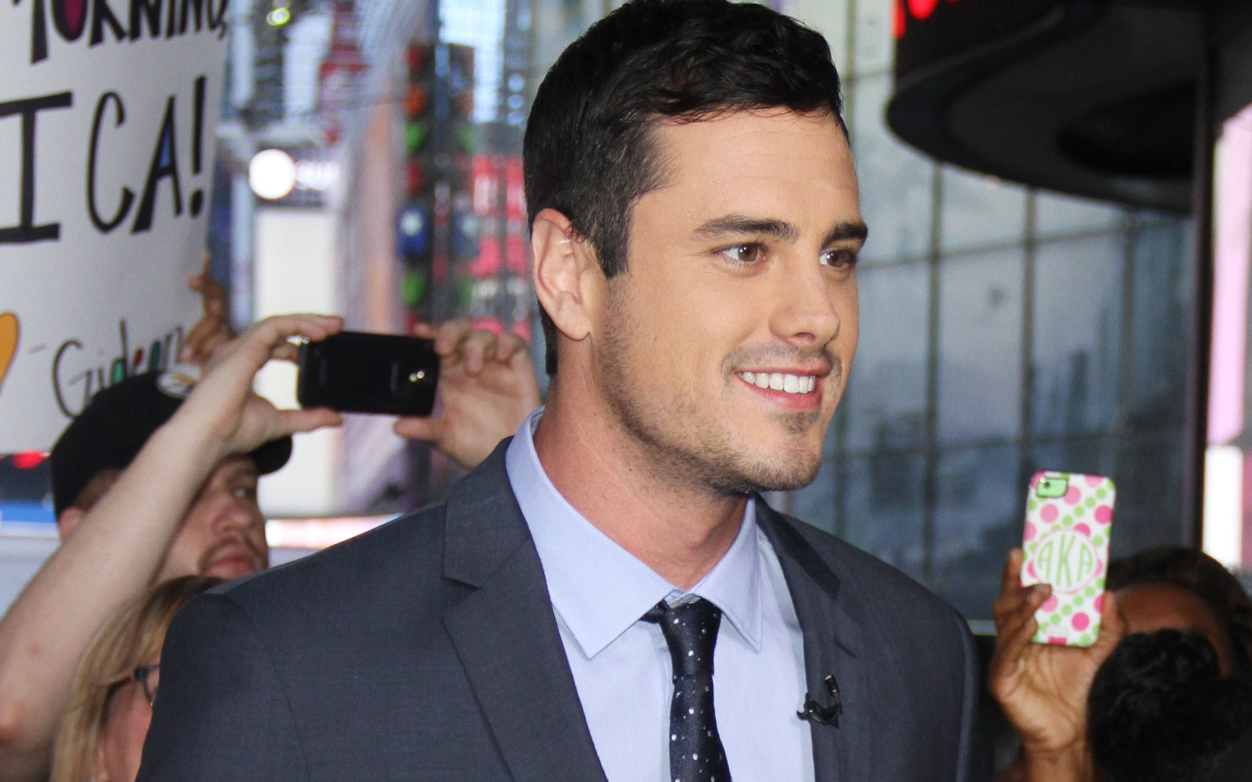 INF   'Bachelor' Ben Higgins Stops By 'Good Morning America'