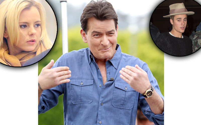 Charlie sheen hiv positive stars react feature