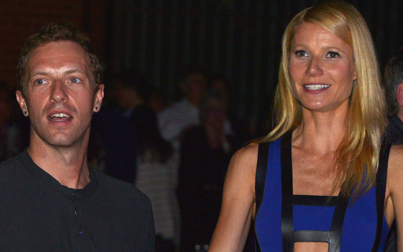gwyneth paltrow chris martin thanksgiving family dinner