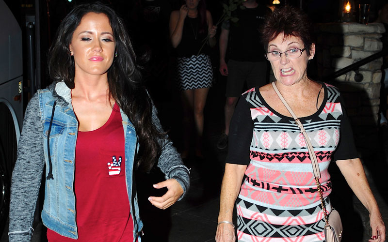 jenelle evans barbara evans fight teen mom filming