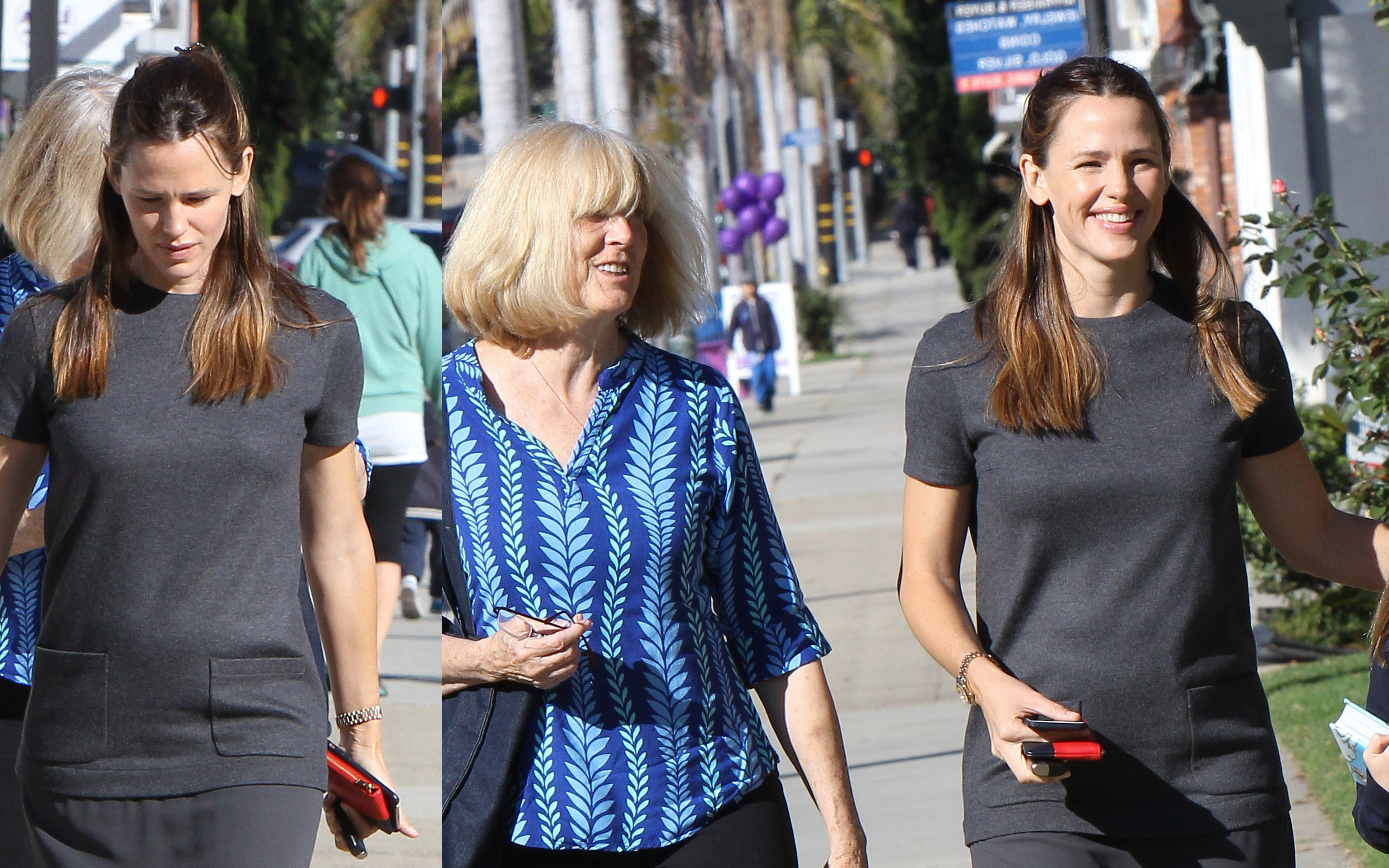 Jennifer Garner out with Ben Affleck's Mother