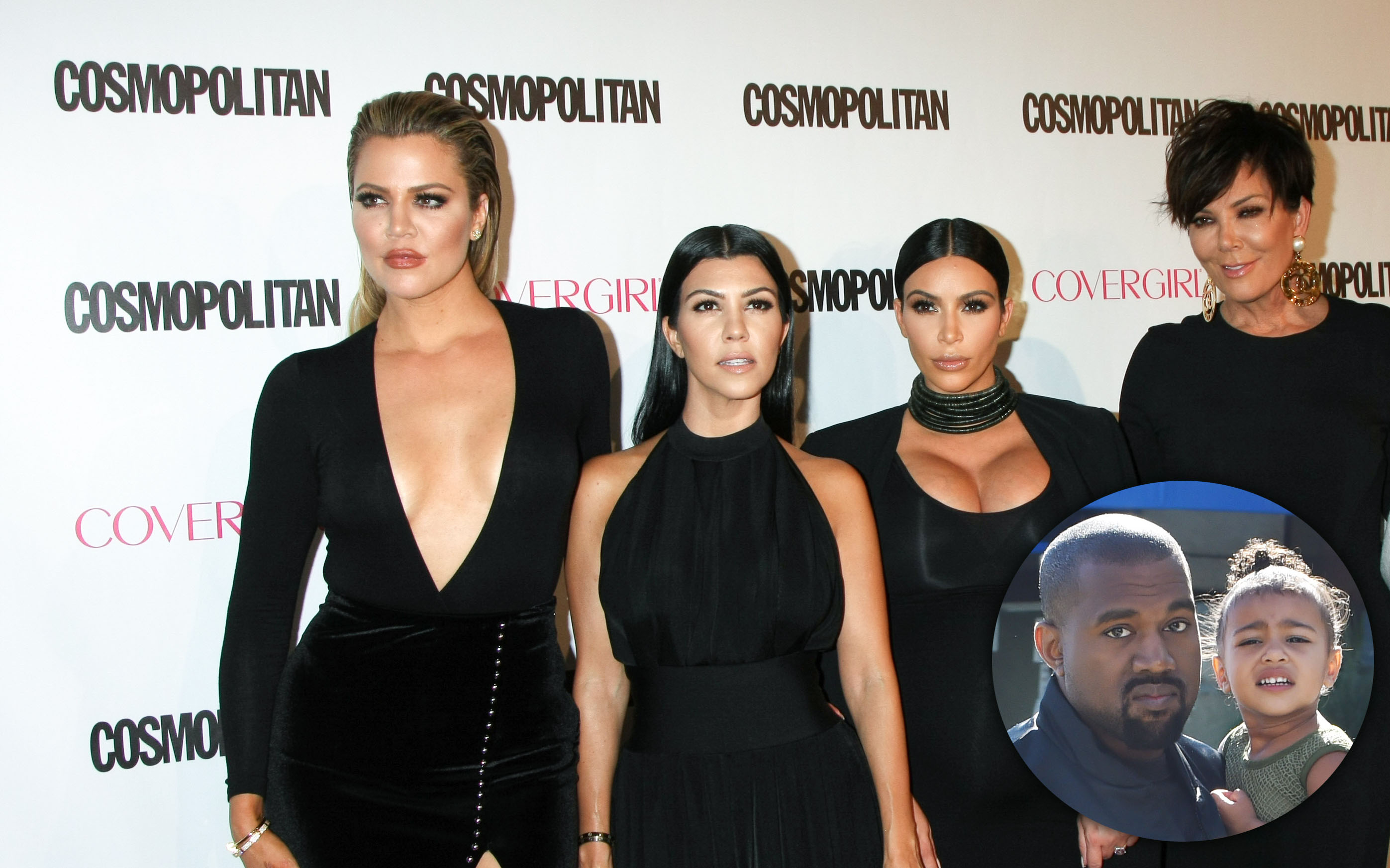 The Kardashian and Jenner women attend Cosmopolitan's 50th Birthday Celebration in West Hollywood, CA