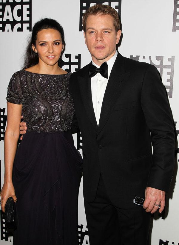 Jealousy & Sexless Nights! Inside Matt Damon & Luciana ...