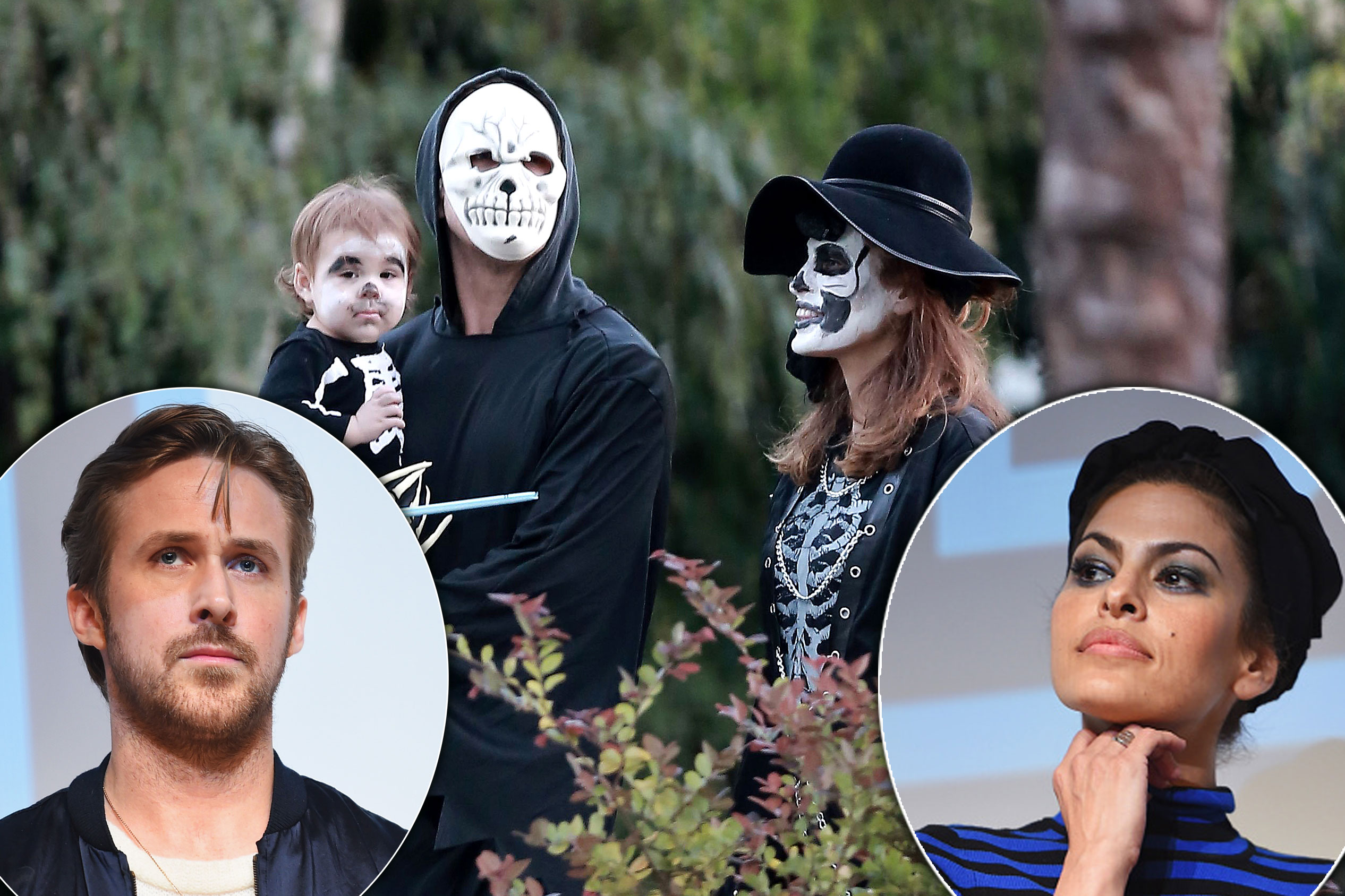 Ryan Gosling & Eva Mendes Finally Emerge As A Family—The ...