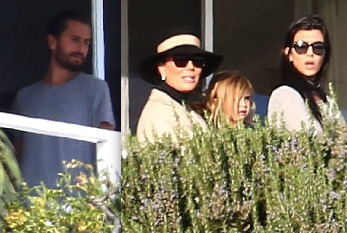 Scott disick rehab kourtney kardashian visit feature