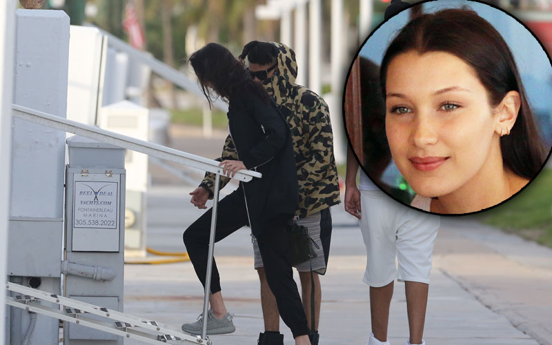 bella hadid the weeknd miami relationship getaway