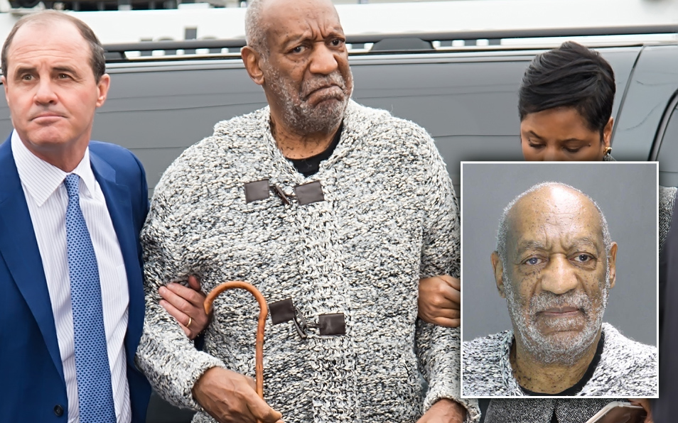 Bill Cosby Arrested For Rape    Mugshot Photo