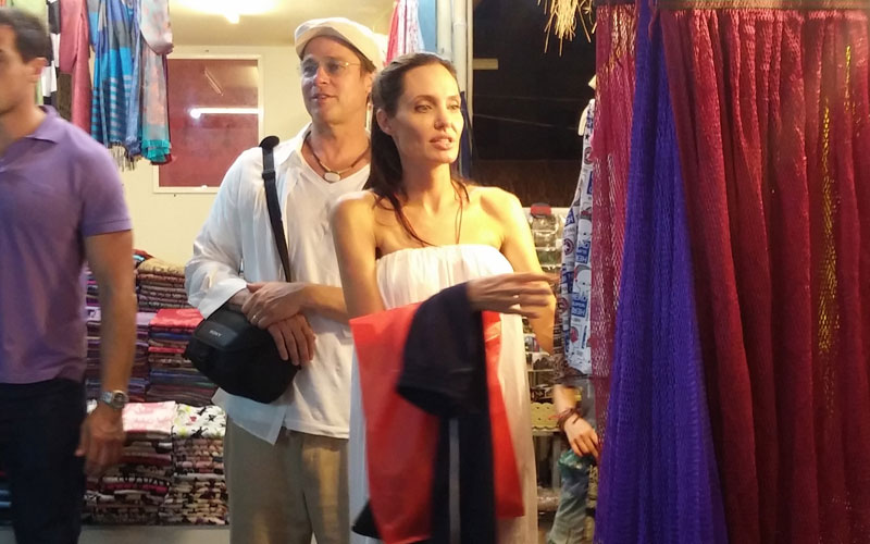 Brad Pitt Angelina Jolie Weight Skinny Arms Cambodia