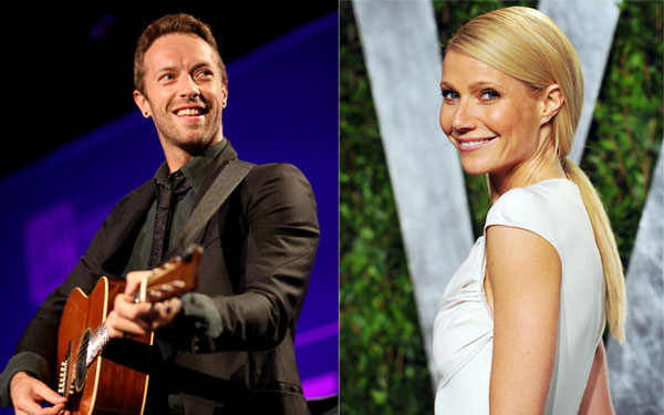 gwyneth paltrow chris martin secret sleepover