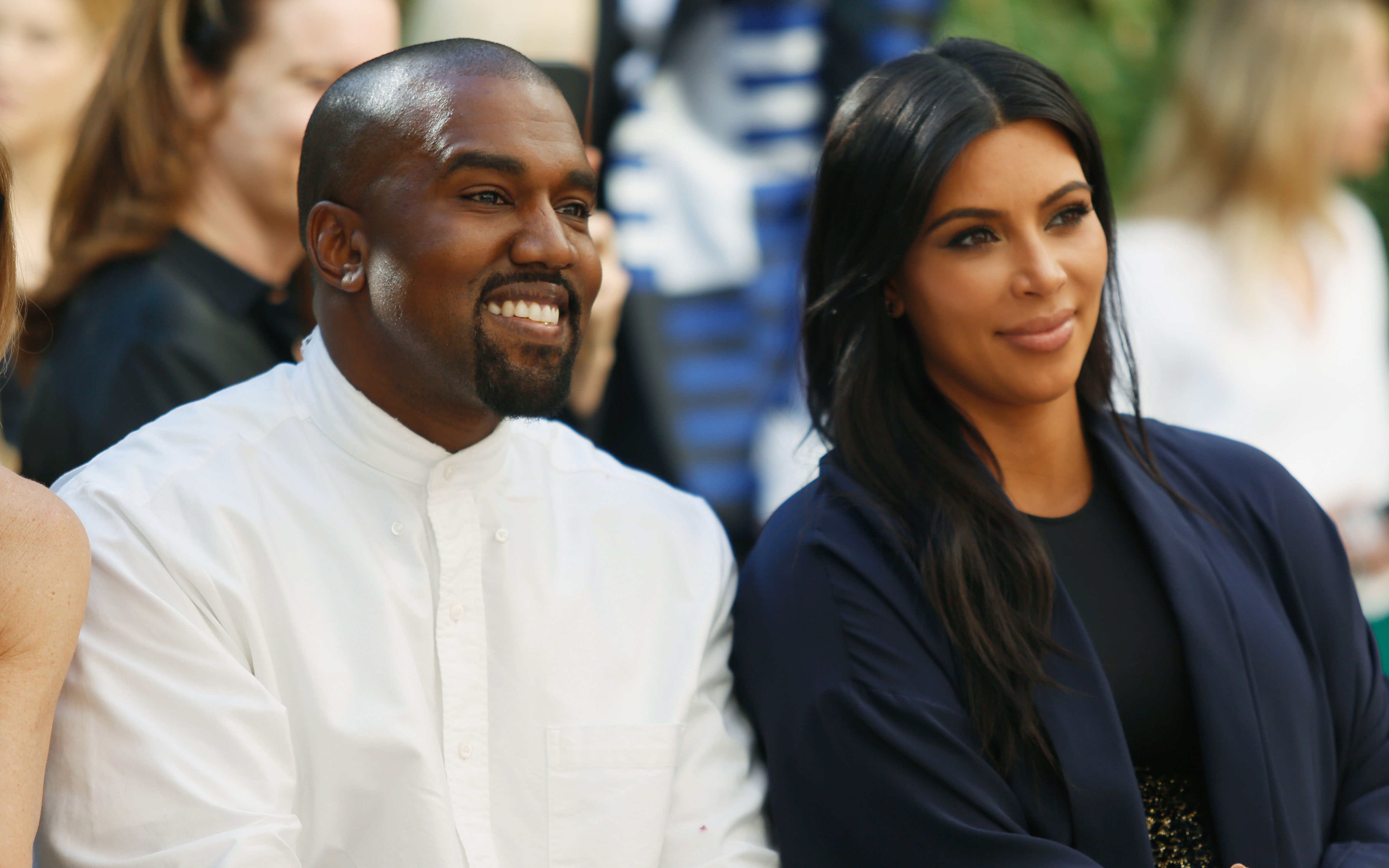 kim kardashian kanye west baby born saint west reason name