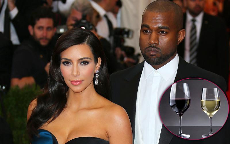 Kim kardashian kanye west vineyard 1