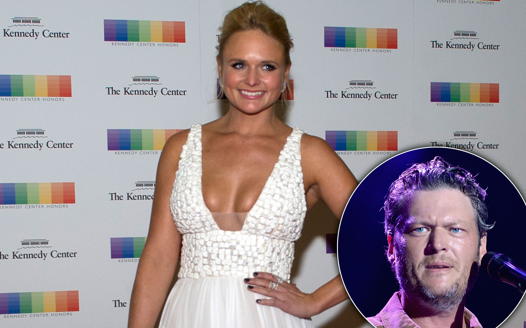 miranda lambert blake shelton bridal gown photos