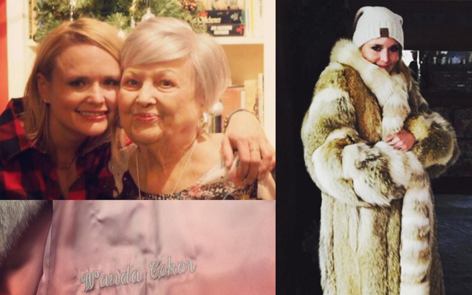 Miranda lambert slammed animal rights activists wearing fur