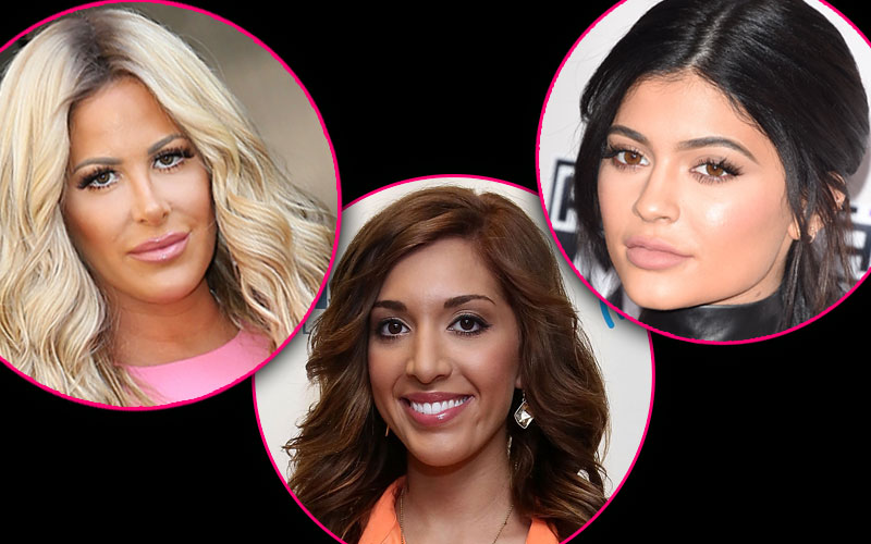 Most Plastic Reality Stars Of 2015 kourtney kardashian kylie caitlyn jenner kim zolciak farrah abraham