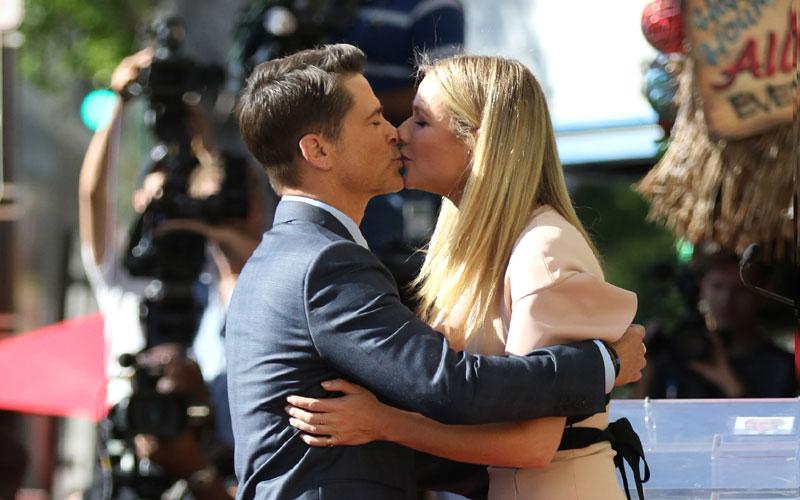 rob lowe kisses gwyneth paltrow