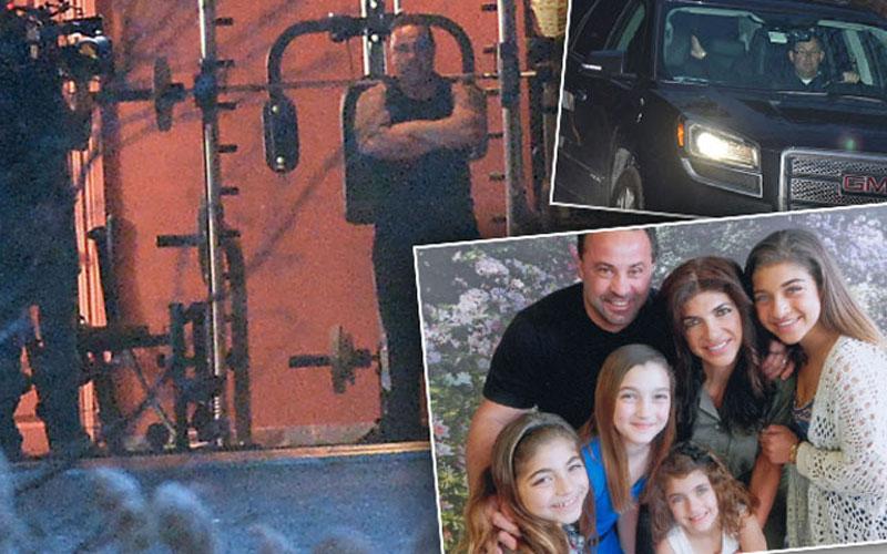 Teresa giudice prison release arrives home pp star