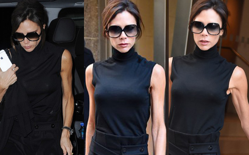 Victoria Beckham is looking classy in New York City **USA ONLY**