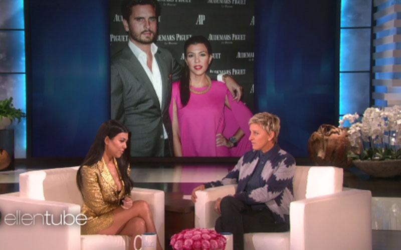 kourtney kardashian not together scott disick strip club