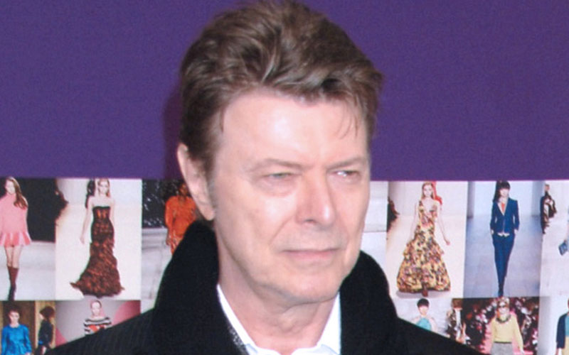 david bowie dead secret burial plans