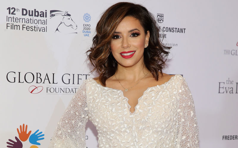 eva longoria wedding dress victoria beckham