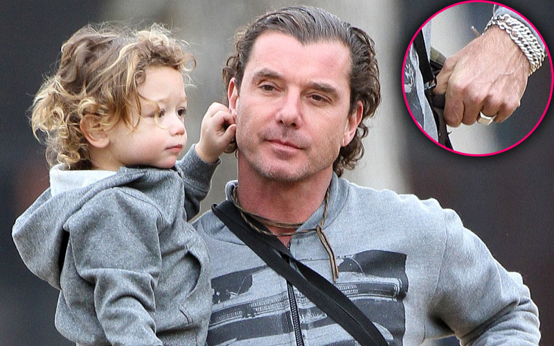 gavin rossdale wedding ring kids photos